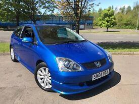 Honda Civic SPORT (blue) 2004