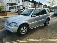 2004 Mercedes-Benz ML 270 7 SEATER 4X4 Manual
