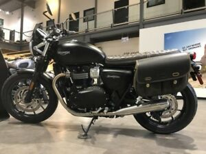 2018 Triumph Street Twin Matt Black DEMO