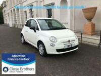 2014 Fiat 500 1.2 Pop 3dr [Start Stop] HATCHBACK Petrol Manual