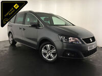 2014 64 SEAT ALHAMBRA SE TDI DIESEL 7 SEATER 1 OWNER SERVICE HISTORY FINANCE PX