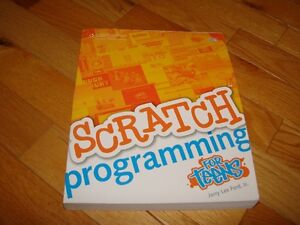 Scratch Programming for Teens (NEW) book & CD