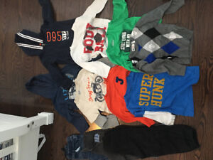 Gently used brand name 3T/4T Boys clothing!
