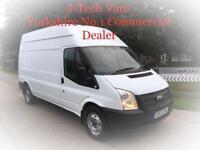 Ford Transit 2.2TDCi T350, 125 Bhp, LWB, 2013, NO VAT