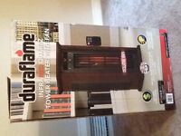 Duraflame Infrared Quartz Tower Heater With Fan