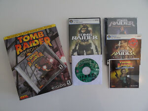 Set of Six Tomb Raider Games for PC