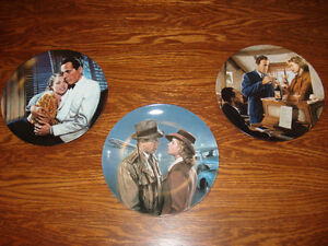 """CASABLANCA"" COLLECTOR PLATES (3)"