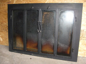 fire place 4 door cover