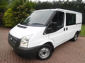 2012 Ford Transit T280 2.2TDCi SWB LOW ROOF 6 SEAT CREW VAN