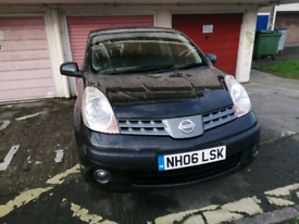 Nissan note 1.6 petrol 12 mths mot