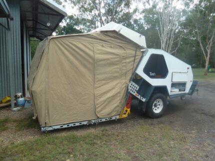 Tvan Track Trailer CANNING As New, valued $75,000