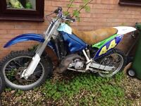 Aprilia 125 rotax motor cross bike needs work project spares or repair not dt go cart