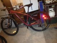 Lost bike stolen