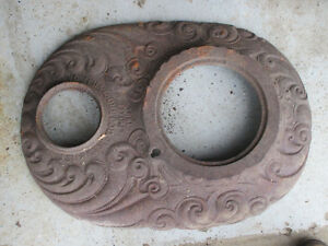 Antique Cast Iron Wood Stove Top