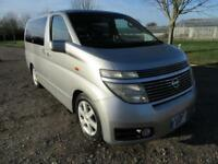 2002 NISSAN ELGRAND 3.5L AUTOMATIC PETROL 5 DOOR MPV 8 SEATS