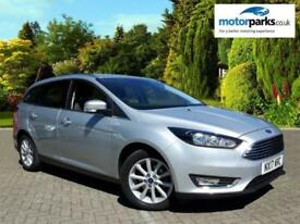 2017 Ford Focus 1.0 EcoBoost 125 Titanium 5dr Automatic Petrol Estate