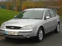 FORD MONDEO GHIA 2.0 TOW BAR FITTED LONG MOT EXCELLENT DRIVE