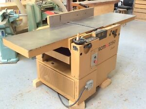 "SCM 20"" PLANER / JOINTER Combination MACHINE EX. CONDITION"