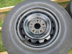 """15"""" steel rims with covers"""