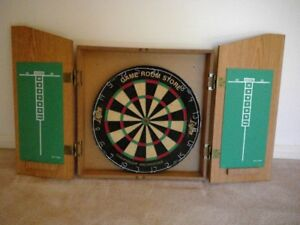 Red Lion Cabinet and Dufferin Dart Board