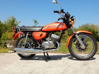 KAWASAKI H1B 500cc 1972 STUNNING EXAMPLE LOTS OFMONEY SPENT WITH BILLS