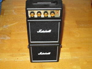 Fender and Marshall Mini Practice Amps