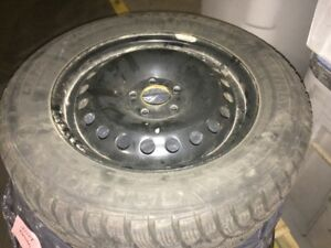 """Like New"" 2014 Ford Fusion Winter Tires and Rims"