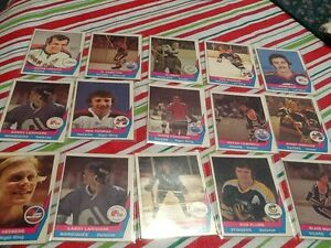 28 WHA HOCKEY CARDS 1977/78