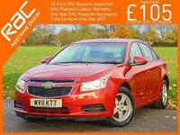 2011 Chevrolet Cruze 1.6 LS 4 Door Auto Parking Sensors Air Conditioning Just 2