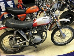 1970 HONDA SL100 PROJECT BIKE