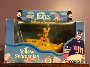 Corgi Diecast Yellow Submarine The Beatles
