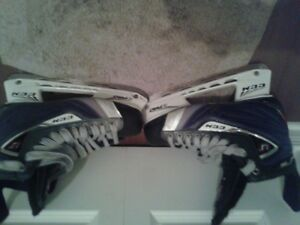 Almost new Hockley skates for sale