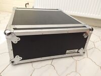 "Citronic Disco DJ amp 19"" rack mount 4u flight case"