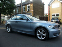 2010 BMW 1 SERIES 120 2.0 i Sport, 56750 miles,Full Service History