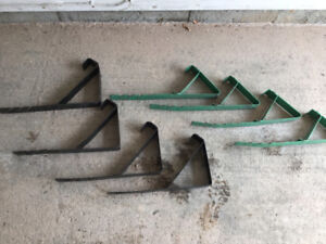 Roofing Safety Braces - 2 sets of 4