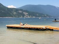 12' or 16' Floating Cedar Docks