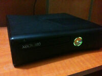BLACK 4GB M0DD3D XBOX 360 SLIM SYSTEM WITH 14 GAMES