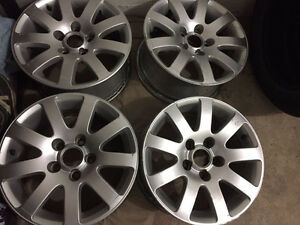 "15"" ORIGINAL VW RIMS"