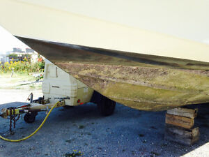Antifoul Removal and below water line cleaning.