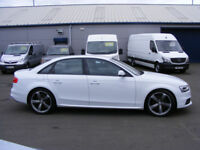 Audi A4 Black Edition 1.8 TFSI 170PS (white) 2015