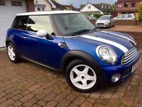 Mini Cooper 1.6L 3Dr In Mint Condition! 1 Year MOT/Full BMW Service History/HPI Clear
