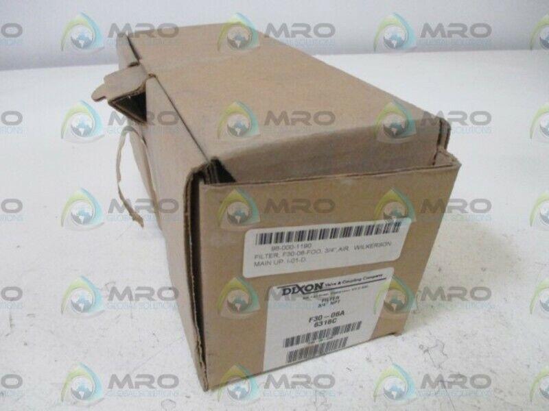 """DIXON F30-06A 3/4"""" FILTER * NEW IN BOX *"""