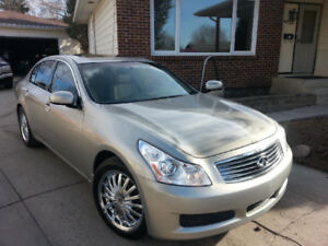 2008 G35X in great shape mostly  highway miles