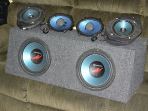Kenwood car stereo system (complete) London Ontario image 2