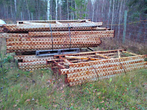 Pallet Racking/Shelving for Warehouse/Yard (Heavy Duty) Prince George British Columbia image 4