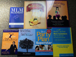 Direct Sales books & the Dice Booking game.