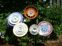 Plate Flowers-cup and saucer