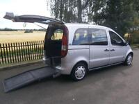 2004 Mercedes Benz Vaneo 1.9 Trend 5dr Tip AUTO WHEELCHAIR ACCESSIBLE VEHICLE...