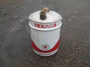 Vintage Texaco Tin