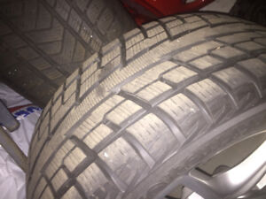 265/50/19 Winter Tires and Rims for sale